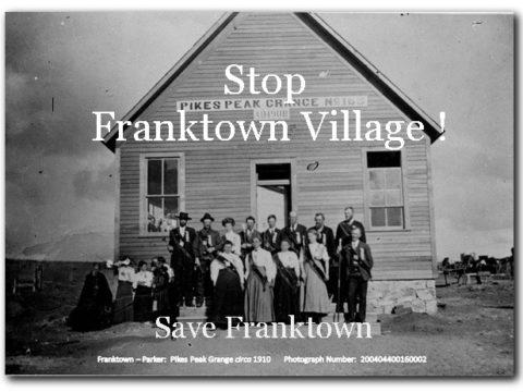 Save Franktown!