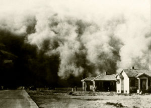"""A """"great roller"""" moves across Colorado during the Dust Bowl"""