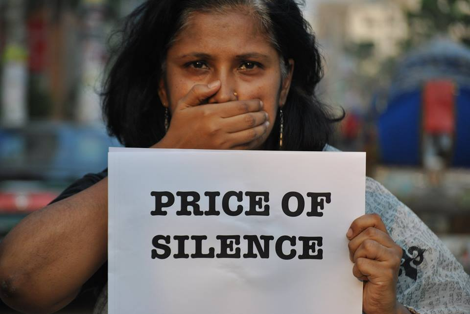 What is the price of our silence?