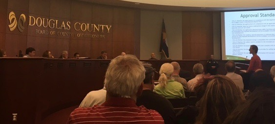 FINAL hearing re: Franktown Village Re-zoning application 25 July 2017 @2:30pm