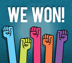The Citizens of Franktown have done IT! We won!!